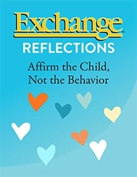 Affirm the Child, Not the Behavior