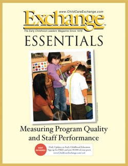 Measuring Program Quality and Staff Performance