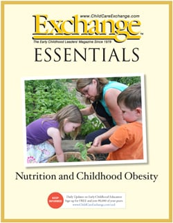 Nutrition and Childhood Obesity