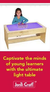 Jonti-Craft - Captivate the minds of young learners with the ultimate light table.