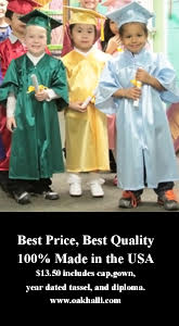 Oak Hall Cap and Gown. Best Price. Best Quality. 100 percent made in USA.
