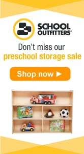 School Outfitters - Don't Miss Our Preschool Storage Sale.