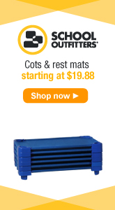 School Outfitters - Cots and Rest Mats Starting at $19.88.