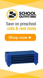 School Outfitters - Save on Preschool Cots and Rest Mats.