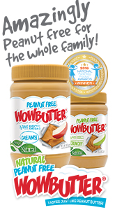 WOW Butter - Peanut Free for the Whole Family