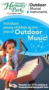 Freenotes Harmony Park - Introduce Young Children to the Joys of Outdoor Musical Instruments.