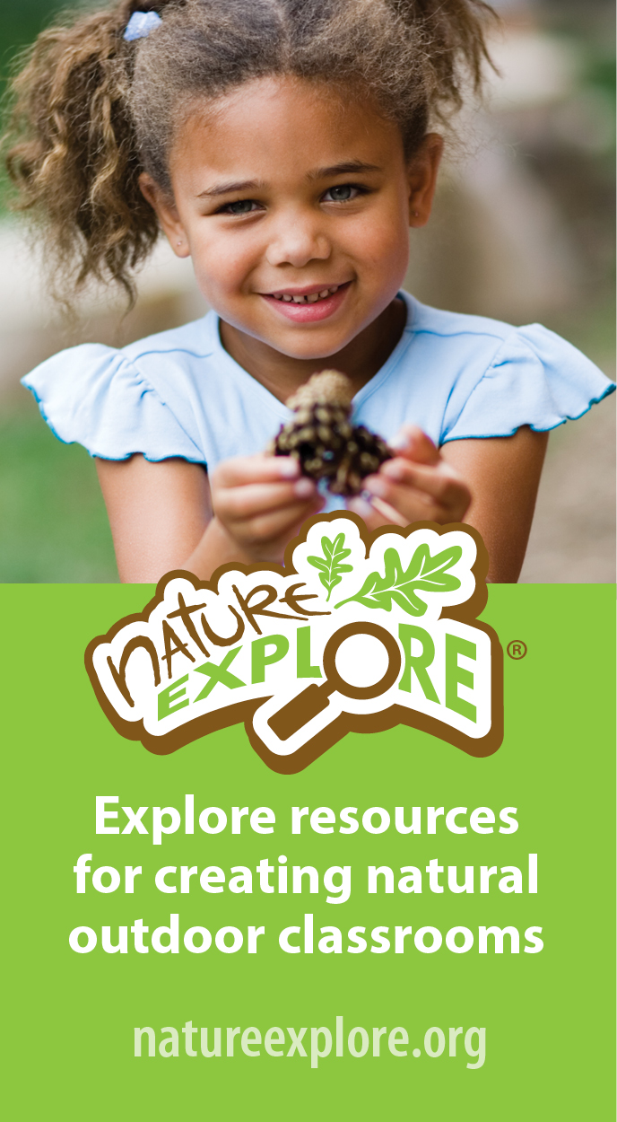 Nature Explore - Explore Resources for Creating Natural Outdoor Classrooms.