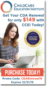 Childcare Education Institute - CDA Renewal for only $149!