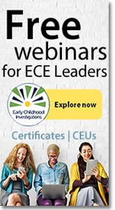 Early Childhood Investigations Webinars - Free Webinars.
