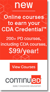 ContinuED - Earn Your CDA Online.