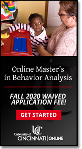 University of Cincinnati - Become a Board Certified Behavior Analyst.