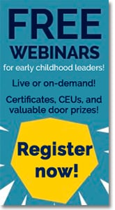 Early Childhood Investigations Webinars - Register for Free Webinars.